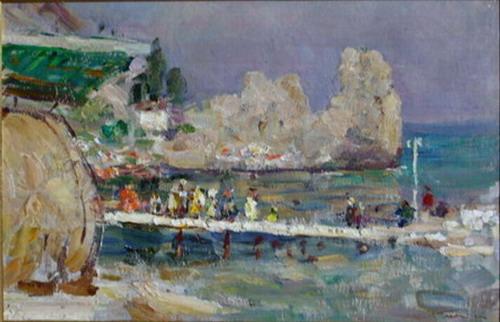 Советское искусство: Галерея Шишкина провела очередные торги в ЦДХ