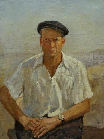 Портрет Дмитриенко. Куйбышевская ГЭС.