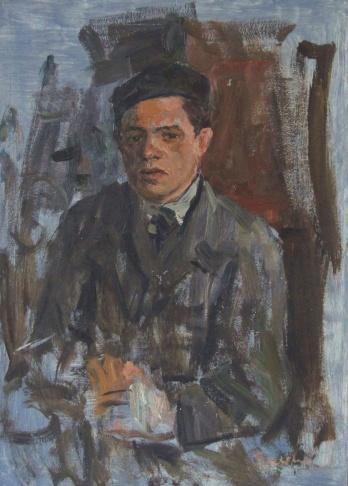 Портрет фрезеровщика В.Смирнова
