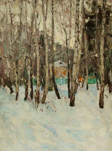 Зима в Тарусе