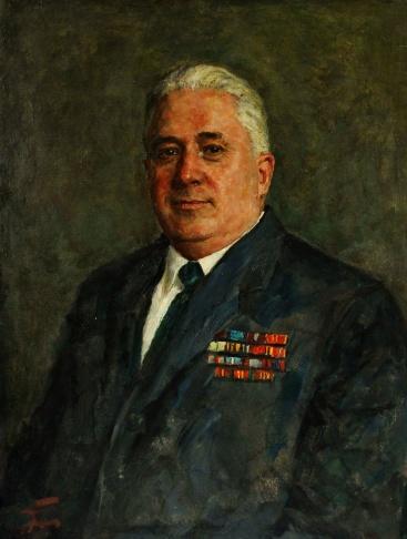 Портрет Поташева И.М. ( сотрудник ГУВД Москвы)