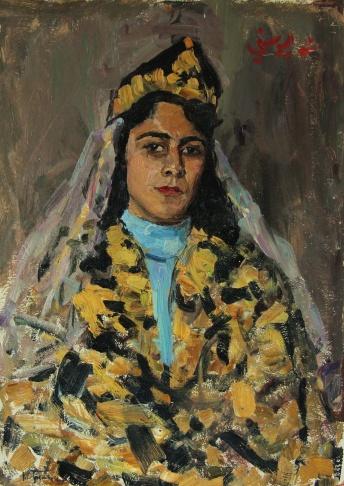 Портрет Си Юсфи Муины. Сирия.