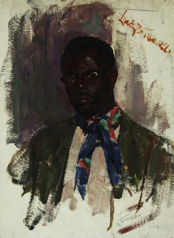Портрет Лакти Туакли. Западная Африка.