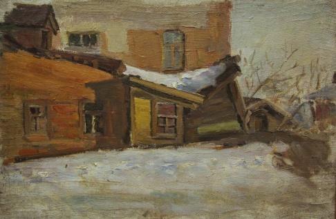 Дворик в Куйбышеве