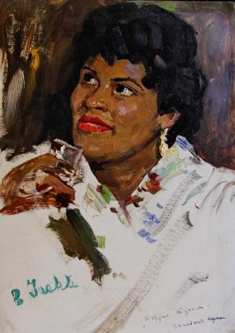 Портрет Кэтрин Туакли. Западная Африка
