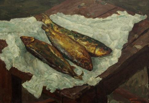 Копчёная рыба
