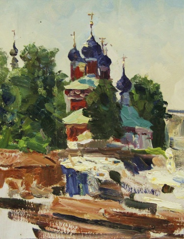 Углич. Церковь Дмитрия на крови.
