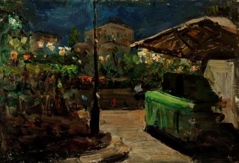 Ночь. Площадь Свердлова.