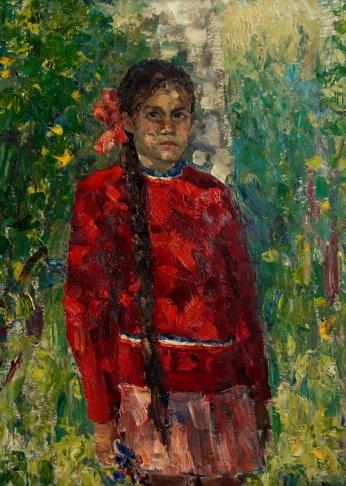 Девочка в красном