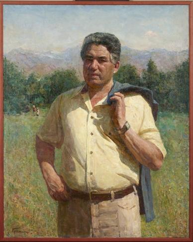 Портрет Чингиза Айтматова