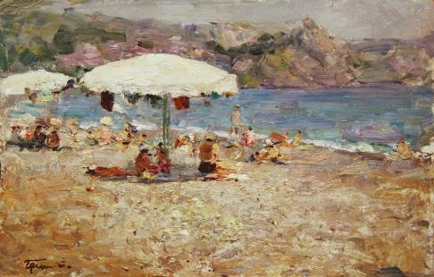 Пляж. Гурзуф.
