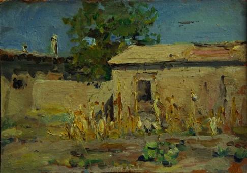 Дворик в Самарканде