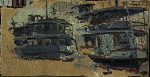 Волжские пароходы