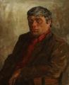 Мужской портрет в красной рубашке