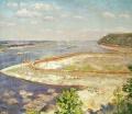 Панорама строительства Куйбышевской ГЭС