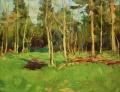 Майский лес