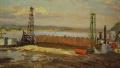 Вечернее солнце (Куйбышевская ГЭС)