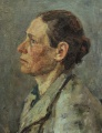 Женский портрет 40-х годов