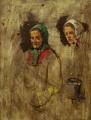 Две женские головы