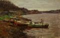 Лодки на Волхове
