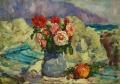 Розы на фоне Аю Дага