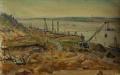 Строительство Куйбышевской ГЭС