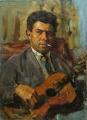 Портрет московского художника Энвера Ишмаметова