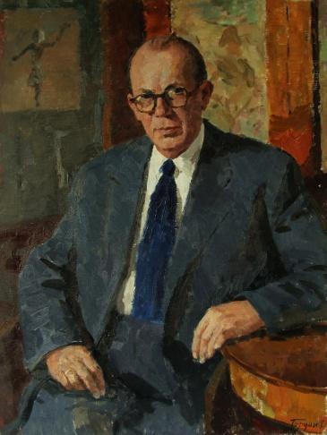 Портрет члена-корреспондента Академии наук СССР В.М.Шулкова