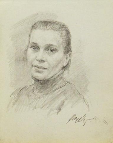 Портрет женщины средних лет