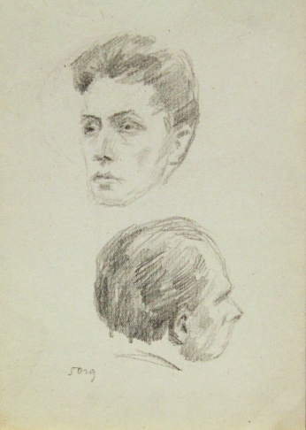 Две мужские головы