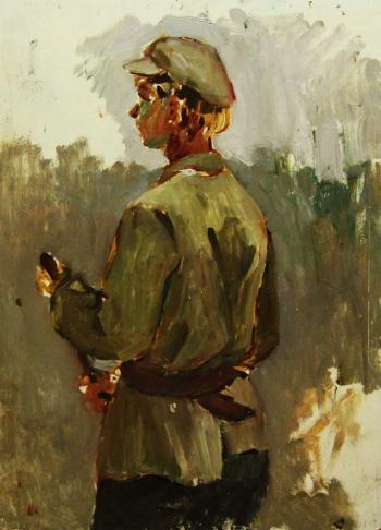 Этюд солдата