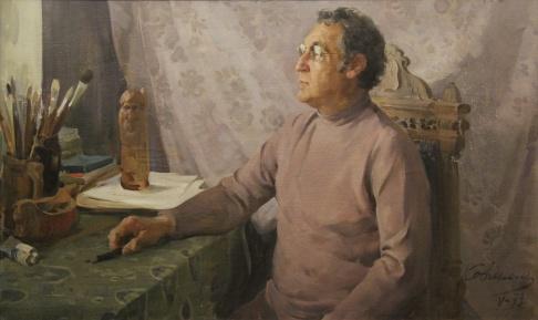 Портрет художника Щупака