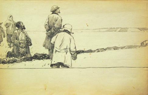 Ленин с крестьянами