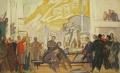 Приёмная комиссия в павильоне