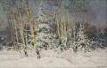 Зимой в Кузьминках