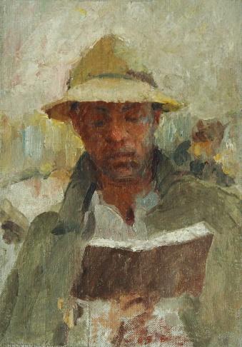 Мужчина с книгой