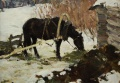Чёрная лошадь