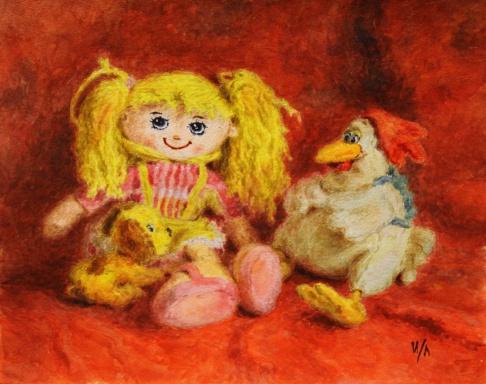 Кукла Лиза и друзья