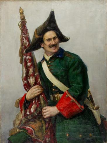 Солдат Петра Первого