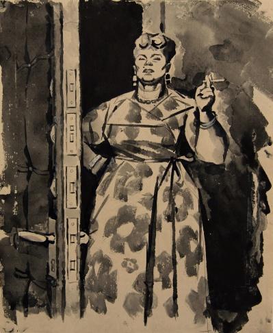 Мадам Гоголева, великолепная женщина. Жена номенклатурного работника.