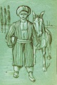 Мальчик с мулом