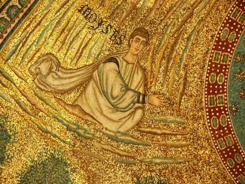 Мозаика в церкви Святого Апполинария в Равенне
