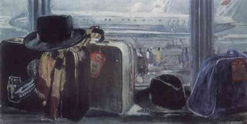 Юрий Пименов. Дальняя дорога. 1959 г.