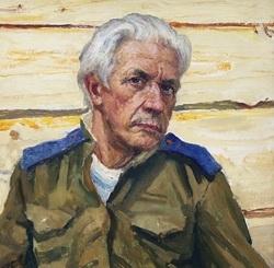 М.Г. Богатырёв «Автопортрет» 1985 г.