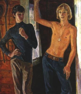 Ирина Шевандронова «Друзья-подростки»  1974 г.