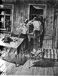 «Рабфаковцы» тушь, 1925 год