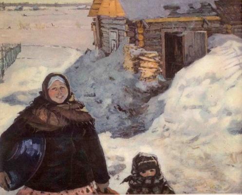Ирина Шевандронова «С лёгким паром» 1962 г.