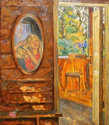 Ирина Шевандронова «Закат на веранде»  1970 г.