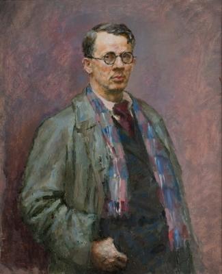Владимир Малагис «Автопортрет» 1947 г. Холст, масло. 100х80 см