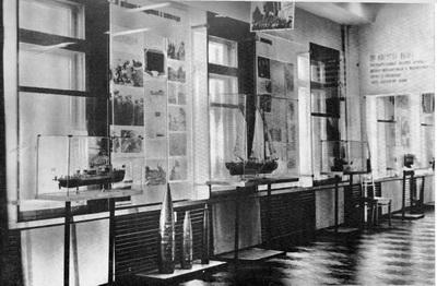 И. Оминин (автор экспозиции).  Центральный Военно-морской музей.